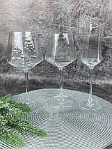 Бокал для шампанского OLens Прозрачная бирюза FD001-1 250 мл, фото 3