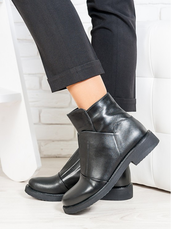 Ботинки женские кожаные весна осень