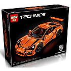 Конструктор Technics Porsche 911 GT3 RS, LEPIN 3368 техник спортивная машина Порше 2728 деталей, фото 2