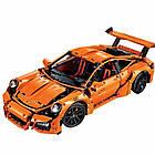 Конструктор Technics Porsche 911 GT3 RS, LEPIN 3368 техник спортивная машина Порше 2728 деталей, фото 5