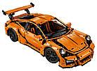 Конструктор Technics Porsche 911 GT3 RS, LEPIN 3368 техник спортивная машина Порше 2728 деталей, фото 6