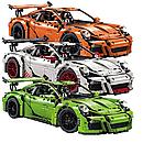 Конструктор Technics Porsche 911 GT3 RS, LEPIN 3368 техник спортивная машина Порше 2728 деталей, фото 8