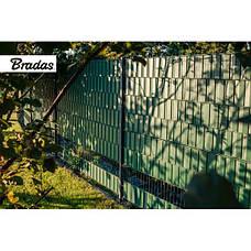 Лента для забора 19см x 35м, 450г/м2, TOB4501935GRL, коричневая, фото 3