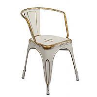 Крісло металеве Bonro B-101V біле