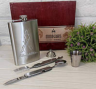 Подарочный набор Фляга Джони Вокер, фото 1
