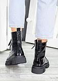 Ботинки берцы зимние женские лак-кожа 7458-28, фото 5