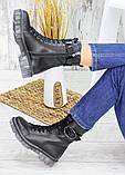 Ботинки берцы женские кожаные зимние 7539-28, фото 2