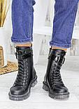Ботинки берцы женские кожаные зимние 7539-28, фото 5
