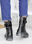 Ботинки берцы женские кожаные зимние 7539-28, фото 6