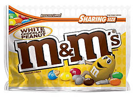 M&M´s White Chocolate Peanut 272 g