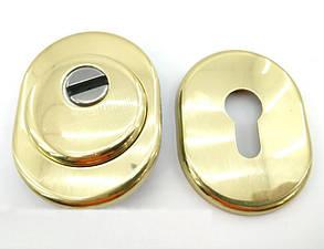 Протектор Azzi Fausto 33 мм стандарт полированная латунь