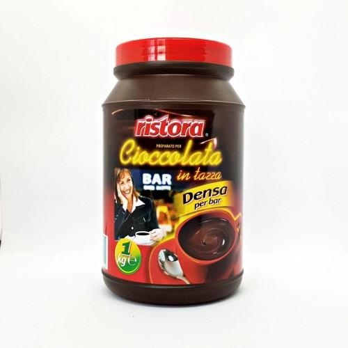 Горячий шоколад Ristora какао в банке 1 кг Италия