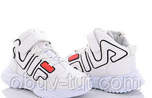 Нові дитячі кросівки на платформі білі Fila Філа 29, 30,31,32,33,34,35,36 Київ