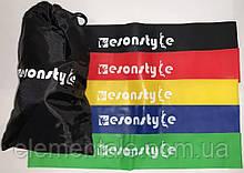 Универсальный Набор резинок для пилатеса йоги фитнеса кроссфита 5 штук Спортивный Фитнес-набор лента эспандер