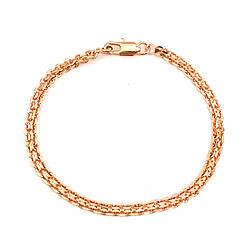 "Браслет ""Бісмарк"" SONATA з медичного золота, позолота 18К, 52092 (20 см)"