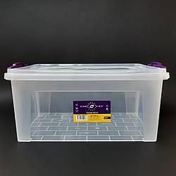 Контейнер харчової пластиковий з ручками Stars Plast 9 л 94008