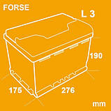 Аккумулятор автомобильный Forse 6СТ-74 Аз Premium, фото 4