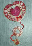 """Необычная открытка с подвеской """"С днем Святого Валентина!"""", фото 3"""