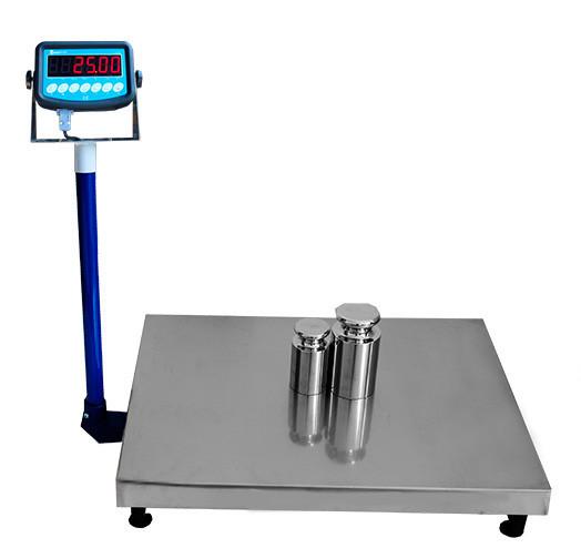 Напольные товарные весы ВИС 300ВП1 (300 кг, 600х800 мм) премиум
