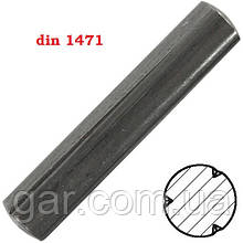 Штифт DIN 1471 Ø2
