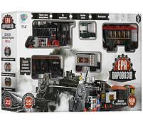 """Железная дорога """"Эра паровозов"""" Limo Toy 701831 R/ YY 127 длина пути 650 см, звуковые и световые эффекты, фото 5"""
