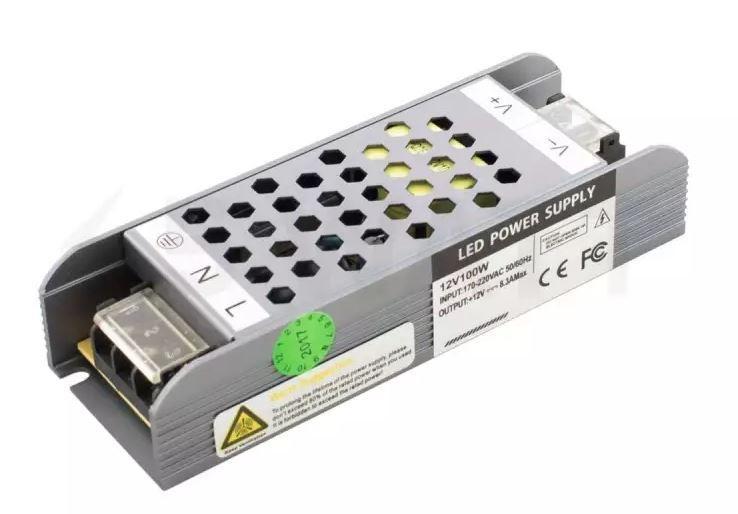 Блок живлення 12В 8.1 А 100 W Proffessional BPU-100
