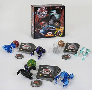 Детский игровой набор Бакуган SB604-14 с разными героями для детей (в коробке 3 вида)