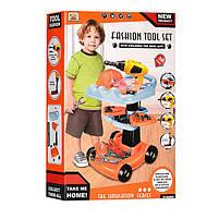 Набор инструментов детский 36778-69 с тележкой, фото 4
