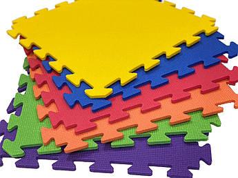 Детский коврик-пазл Спорт 10 из пенополиэтилена 50х50х1см