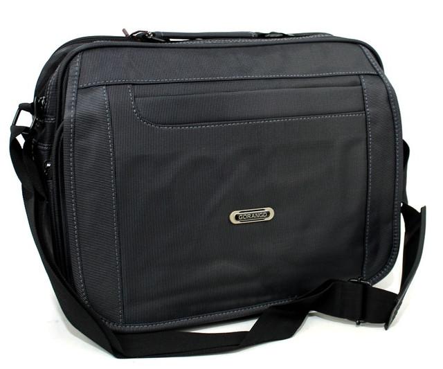Вместительная и функциональная мужская сумка через плечо Gorangd YR 8806