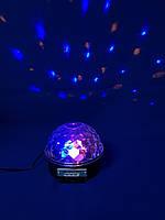 Светомузыкальный шар с Bluetooth и MP3 Magic Ball  (флешка + пульт в подарок), фото 1
