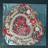 """Необычная открытка с подвеской """"Для тебя"""" - красная, фото 5"""