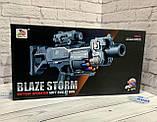 "Автомат ""Baze Storm"" с мягкими пулями, на батарейках, в коробке система типа *NERF* ZC 7079, фото 2"