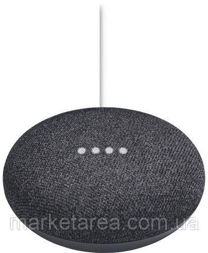 Смарт-колонка Google Home Mini Charcoal *ENG (Гарантия 12 мес)