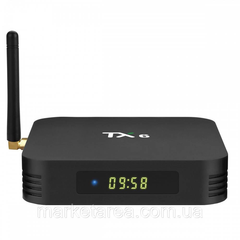 Смарт-тв Tanix TX6 4/32Gb (Гарантия 12 мес)