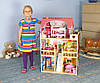 Красивый деревянный дом для  кукол  AVKO Вилла Валетта LED подсветка, фото 4