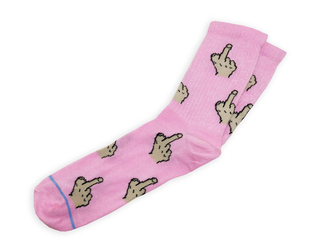Женские носки LOMM F*ck розовые