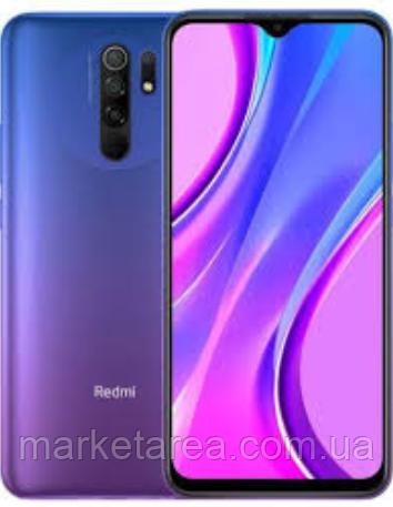 Смартфон с хорошим аккумулятором большой емкости Xiaomi Redmi 9 3/32Gb Purple NFC (Global) Гарантия 12 мес