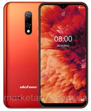 Смартфон с большим дисплеем и 2 камерами на 2 сим карты Ulefone Note 8P 2/16Gb orange (Global) Гарантия 12 мес