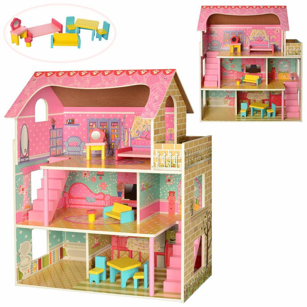 Игровой домик для кукол MD 2203