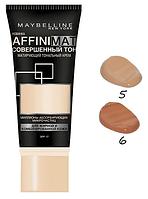 Тональный крем Maybelline Affinimat с матирующим эффектом № 05, 06