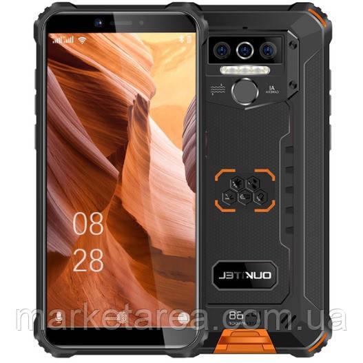 Смартфон защищенный со сканером отпечатка пальца на 2 sim OUKITEL WP5 Pro orange 4/64 (Global) Гарантия 12 мес