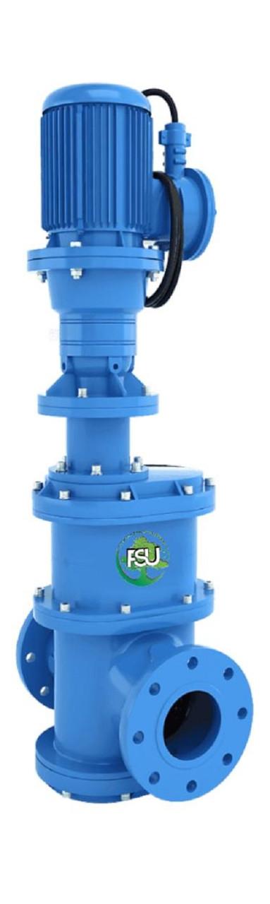Канализационные фланцевые дробилки «In-line» для установки на трубопровод Ду 300 типа FSU
