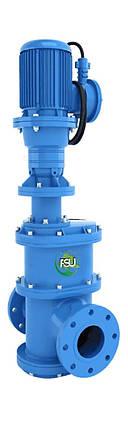 Канализационные фланцевые дробилки «In-line» для установки на трубопровод Ду 300 типа FSU, фото 2