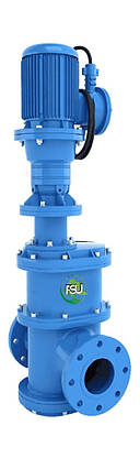 Канализационные фланцевые дробилки «In-line» для установки на трубопровод типа FSU, фото 2