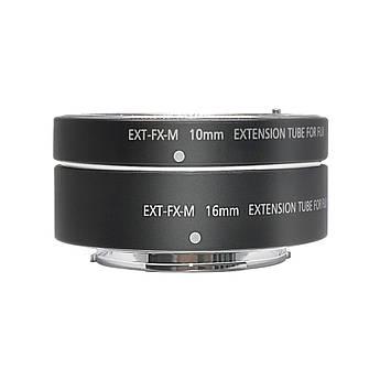 Макрокольца автофокусные для фотокамер FujiFilm (байонет FX) Mcoplus EXT-FX-M (10+16mm)