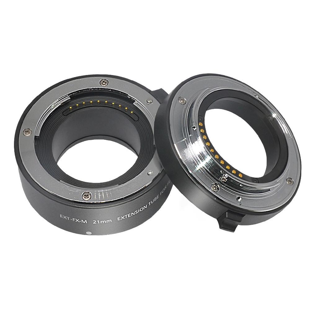 Макрокільця автофокусные для фотокамер FujiFilm (байонет FX) Mcoplus EXT-FX-M (10+21mm)