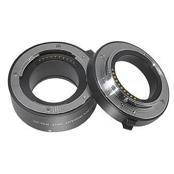 Макрокольца автофокусные для фотокамер FujiFilm (байонет FX) Mcoplus EXT-FX-M (10+21mm)