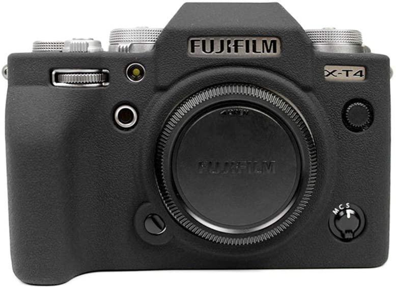 Захисний силіконовий чохол для фотокамери FujiFilm X-T4 - чорний