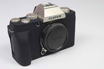 Захисний силіконовий чохол для фотокамери FujiFilm X-T200 - чорний